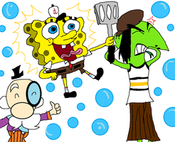 Tom Kenny Characters by PurfectPrincessGirl