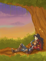 Chilling Out by Katantoon