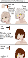 Unhelpful Pixel Hair Tutorial by IKillBecauseICare