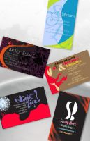 Business Card Designs by MrSunnyBlack