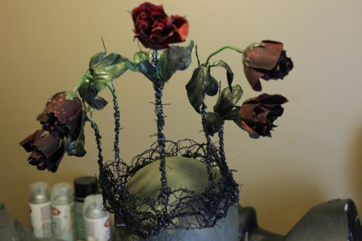 Black Rose Crown (finished) by BlackheartChimera13
