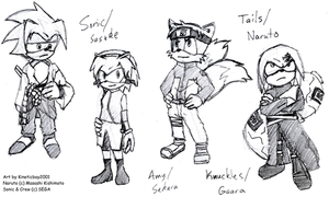 Naruto+Sonic Crossover. by Kineticboy2001