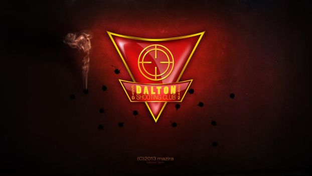 Dalton Shooting Club logo by maXeerZ
