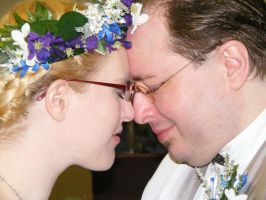 The Really Good Pic of us from our Handfasting. by WinterRoseASFR