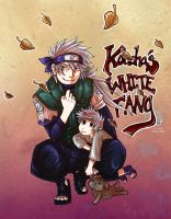 Konoha's White Fang by lemonfruitpie