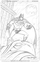 Pre-NYCC Commission - Batman animated by DarioBrizuelaArtwork