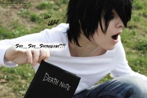 Shinigami appears by SCHIZOPHRENIC-ALICE