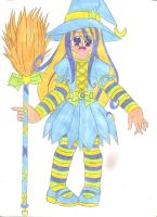 Moonbeam Witch by animequeen20012003
