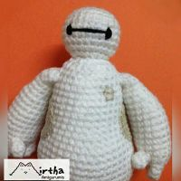 Amigurumi Baymax/ Big Hero 6 by MirthaAmigurumis