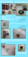 Pudding clay tutorial by jobo12354