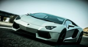 Aventador in race ... (Need for Speed: The Run) by GhostedMan
