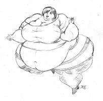 SSBBW Megumi by dwarfpriest
