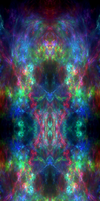 What?! Another Rainbow Fractal Background?!!! by darkdissolution