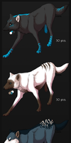 3 Wolf Adopts by NOVlCE
