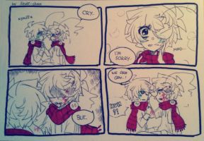 [4-Panel Comic] Cry we are.. by Nadi-Chan