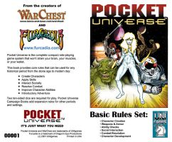 Pocket Universe RPG Cover by JeffDee