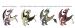 HTTYD Adopts 3~3/4 Open~30 points each~ by Xbox-DS-Gameboy