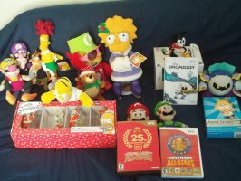 My Christmas Presents 2010 by MarioSimpson1