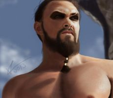 Khal Drogo by Vladracs