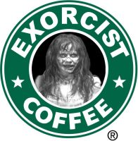 EXORCIST COFFEE by Darkness-Man