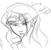 Elmas L.R. Sketch by Healing-Touch