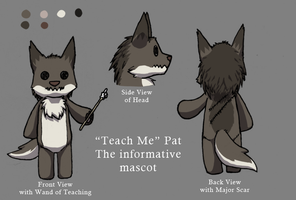 Mascot Entry: Teach Me Pat by Pencil-Artisan