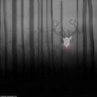 The Slender Deer by Embrastic