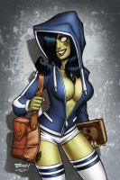 Zombie Tramp Nittany Con Exclusive Cover by BillMcKay