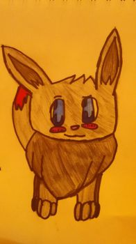 Evan the Eevee by Chugoku40009