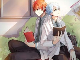 Kuroko no Basuke: Afternoon at Teikou by Lancha