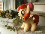 Handmade Applebloom Plushie by HipsterOwlet