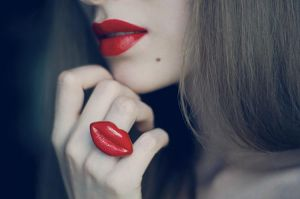 Red Lips by Escapetoparadise