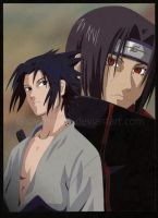 _UchihaBrothers_ by Gabychan91