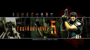 Resident Evil 5 - PS3 Theme by T-Vairus
