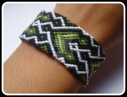 Pulsera Macrame by Dark-Unicor