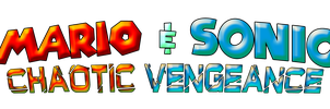 Mario and Sonic Chaotic Vengeance Logo by KingAsylus91