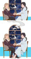 Daily life of SHERLOCK and JOHN. by kiyoic