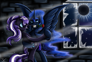 Fanart - MLP. Nightmare Tango by jamescorck