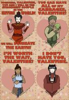 Avatar TLA Valentine's Day Cards by morphmaker