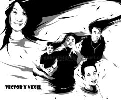 vector x vexel philippines by gilbert86II