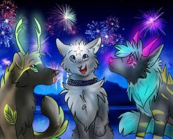 .:Baby You're a Firework:. by xHollysxImaginationx
