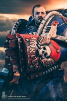 Gary Sterley Studios Space Marine 1 by gsterley