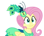 Fluttershy: Two Cakes Face by missgoldendragon