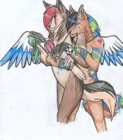 __.. The Angel and the Raver by Wolfs-Blood