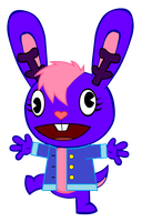 [REQUEST] Cupcake the Derping Jackalope by S4R3V0L9TN9TY4