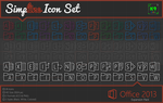 Simpline Icon Set - Office 2013 Expansion by dAKirby309