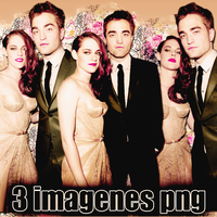 Pack png 131 Robsten by MichelyResources