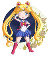 Sailor Moon by Klimene