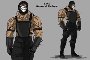 Bane League of Shadows 3 by darknight7