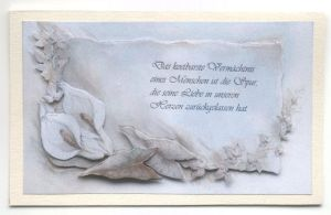 Trauerkarte - Condolence Card - 2007 (11) by jolina44